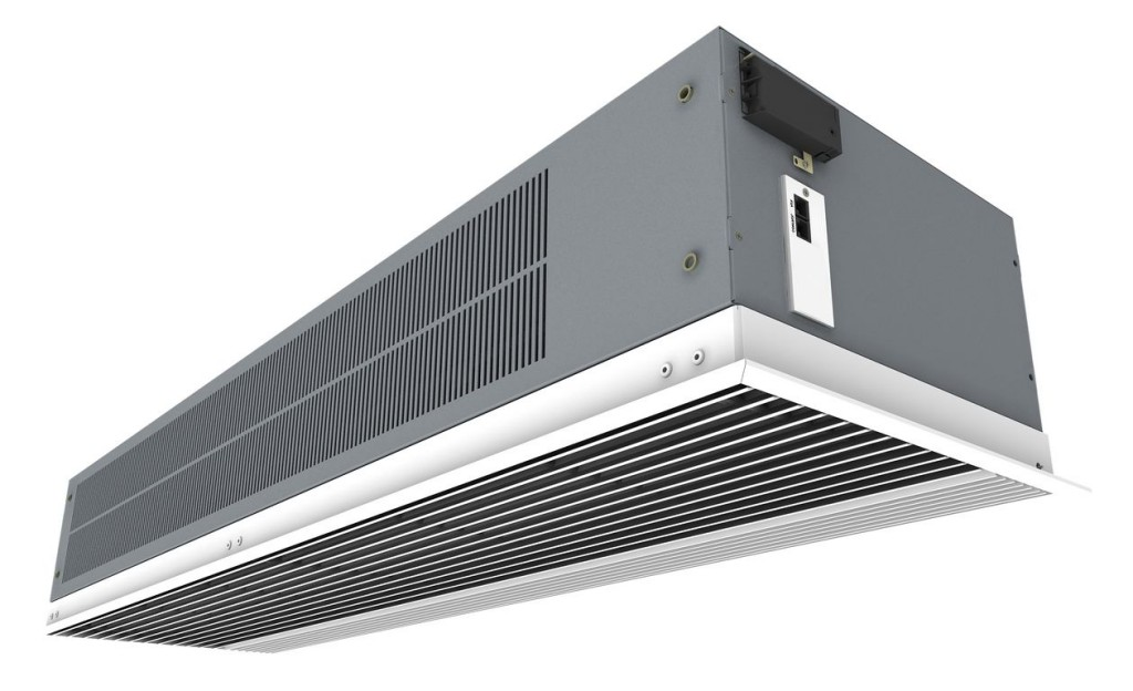 Recessed Optima air curtain